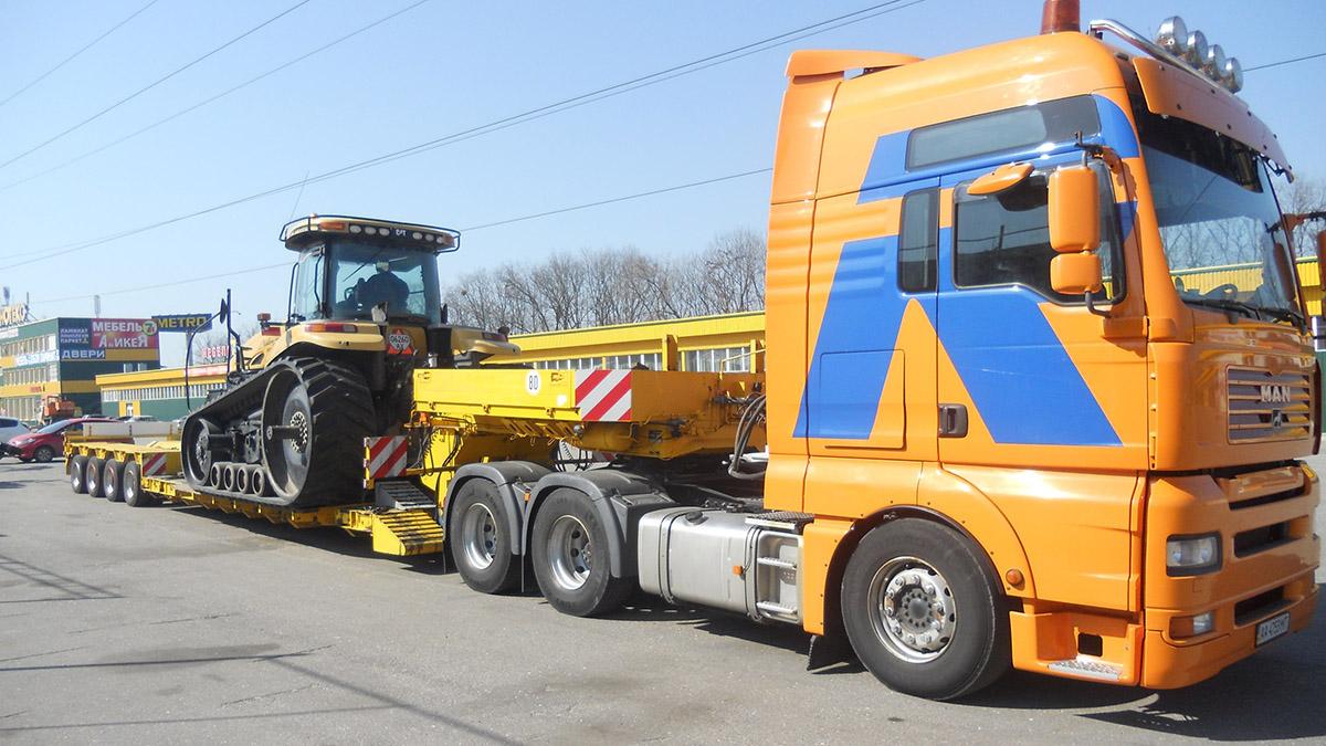 Перевозка сельхозтехники автомобильным транспортом