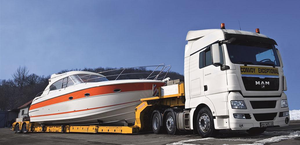 Международные негабаритные перевозки автотранспортом